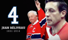 Here is the Montreal Canadiens' Emotional Jean Béliveau Tribute (Video)
