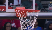 Crooked Rim Delays Rockets-Wizards Game for 35 Minutes (Video)