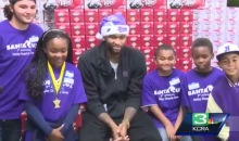 A Bunch of Sacramento Kids Are Very Merry After DeMarcus Cousins Christmas Shopping Spree