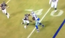 This Brutal Dez Bryant Stiff Arm Perfectly Sums Up The Cowboys' Beatdown Of The Bears (Video)