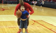Dwight Howard Helps Terminally Ill Kid Score a Basket (Video)