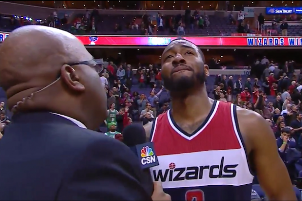 emotional john wall post-game interview