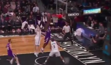 Sacramento's Accidental Experiment with 4-on-5 Defense Foiled by Reggie Evans Dunk Fail (Video)
