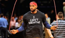 """I Can't Breath"" Shirts Were Everywhere Before Cavs-Nets Game Monday Night (Pics)"