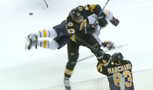 Matt Bartowski Headshot Totally Destroys Brian Gionta (Video)
