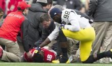 Michigan QB Devin Gardner Checks on Injured Rival in Amazing Display of Sportsmanship