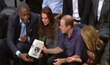 The NBA Rolled Out the Red Carpet for William and Kate at the Nets-Cavs Game (Pics + Video)