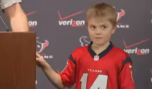 Ryan Fitzpatrick Shows Off His Ridiculously Smart Kid After Best Game of His Career (Video)
