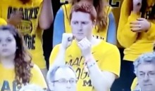 Sad Michigan Fan Gives Sad Fist Pump (Video)