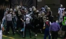 Saints-Panthers Brawl Breaks Out During NFC South Battle (Video)
