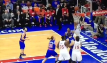 Sad 76ers Miss Five Shots in a Row, Prove They Still Suck More Than Knicks (Video)