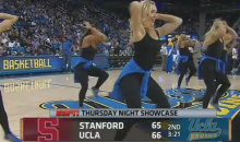 Bill Walton Ogles Bruins Cheerleaders During UCLA-Stanford Game (Video)
