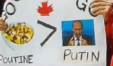 This Sign From the Canada-Russia World Jr. Hockey Gold Medal Game is Awesome (Pic)