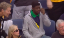 Citrus Bowl Fan Just Combing His Hair after Missouri TD (Video)