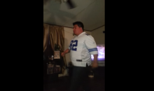 Cowboys Fan Goes Ballistic on Woman After Wild Card Win (Video)
