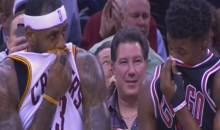 Did LeBron James or Jimmy Butler Fart During Last Night's Cavs-Bulls Game? (Video)