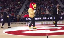 Hawks Mascot Tears It Up To 'Uptown Funk' (Video)