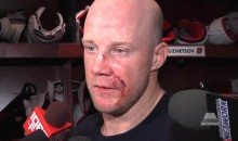 Jason Chimera's Face Is a Bloody Mess (Pics + GIFs)