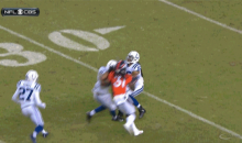 Josh Cribbs Got Laid Out by Andre Caldwell on a Punt Return (Video)