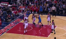Kevin Durant Posterized Marcin Gortat with an OT Dunk Last Night (Video)