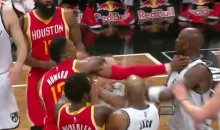 Kevin Garnett Headbutts Dwight Howard, Throws Ball at Him (Video)