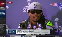 Marshawn Lynch Speaks Out During Today's Super Bowl Press Conference (Video)