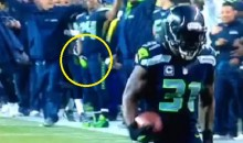 Here's Another Marshawn Lynch Crotch Grabbing Celebration (Video)