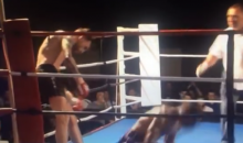 Muay Thai Knockout by Spin Kick Leaves Fighter Drooling and Limp (Video)