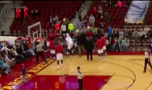 NBA D-League Teammates Fight Each Other, Then Get Ejected (Video)