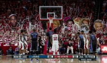 NC State Fans Use the Best Internet Celebrities as Free Throw Distractions (Pic)