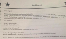 NFL Ref Pete Morelli Does His Best To Explain That Cowboys Non-Call (Pic)
