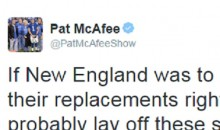 "Colts Punter Pat McAfee Has An Important Question About ""DeflateGate"""