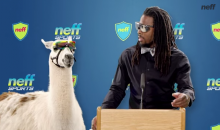 Richard Sherman and a Llama Make Fun Of Tom Brady's Uggs in This Ad (Video)
