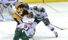 Ryan Suter Elbow on Steve Downie Earns Him a Disciplinary Hearing (Video)