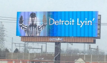 "Lions Fans Pooled Cash to Buy ""Detroit Lyin"" Anti-Ref Billboards (Pic)"