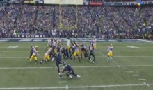 Seahawks Fake Field-Goal Give Them Their First TD Of The Game (Video)