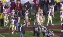 Several FSU Players Refuse To Shake Hands after Blowout Loss (Video)
