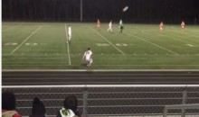 This Soccer Front-Flip Throw-In Goal is Impressive, But Did It Count? (Video)