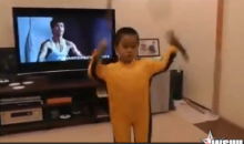 This Little Kid Is the Next Bruce Lee, So Don't Piss Him Off (Video)