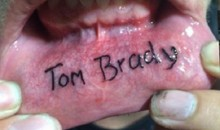Tom Brady Lip Tattoo Is Not a Good Idea (Pic)