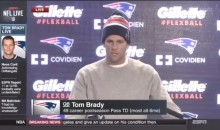 Watch Every Time Tom Brady Says 'Balls' During His Press Conference (Video)