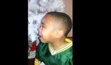 Young Packers Fan Breaks Down in Tears Seeing Michael Bennett on Bike (Video)