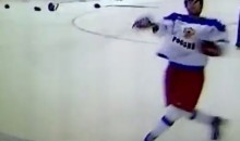 Russia's Ziat Paigin Throws Stick Into Stands, Cuts Fan at World Juniors (Video)