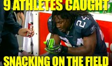 9 Cases of Athletes Caught Snacking on the Field