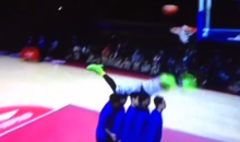 Chinese Dunk Contest Features Hilariously Aweful Dunk Fail (Video)