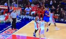 This Cole Aldrich Hook Shot Airball Sums Up the Knicks 13-Game Losing Streak (Video)