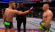 UFC's Conor McGregor Gives Dennis Siver the Finger Before Beating Him Senseless (Video + GIF)