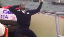 Dancing Flyers Usher Makes Being a Flyers Fan Slightly Less Depressing Right Now (Video)
