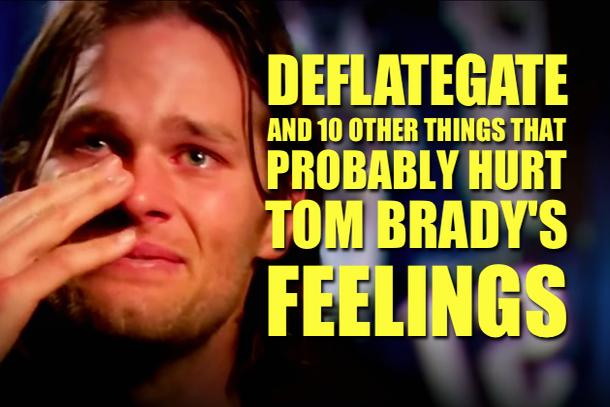 Tom Brady Rings Deflategate
