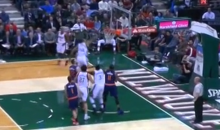 Greek Freak Giannis Antetokounmpo Earns His Nickname by Posterizing Two Phoenix Suns Player (Video)